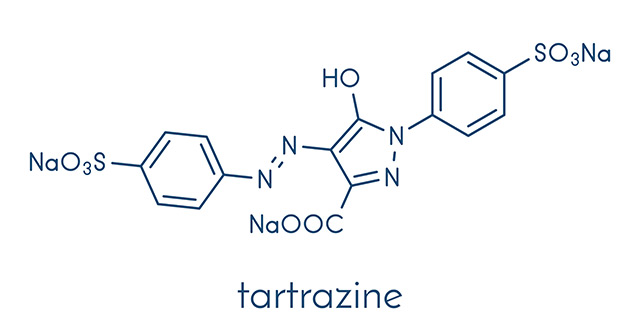 Tartrazine — toxicity, side effects, diseases and environmental impacts